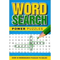 Wordsearch Power Puzzle Book: Blue by Alligator Books, Paperback, NEW