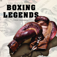 2020 Boxing Legends Square Wall Calendar by Paper Pocket 17077