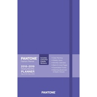 2019 Diary Pantone Ultra Violet Planner Compact Weekly by Browntrout