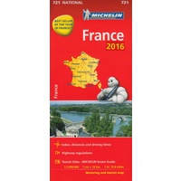 France 2016 Michelin National Map 7219782067211094