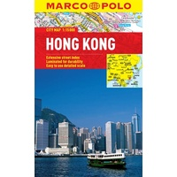 Marco Polo City Map Hong Kong 9783829769723