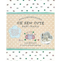 Oh Sew Cute Book & Sewing Project Kit Baby Crafts - Free Shipping!