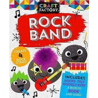Craft Factory Rock Band Activity Set NEW - Free Shipping