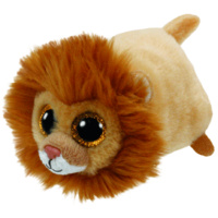 Teeny Tys Beanie Boos - Regal the Brown Lion- Brand New Soft Toy