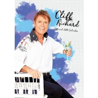 Cliff Richard Official 2018 A3 Wall Calendar NEW by Danilo, Free Postage