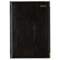 2018 Diary Cumberland Corporate A5 Day to Page Black (51CFBK) Free Post