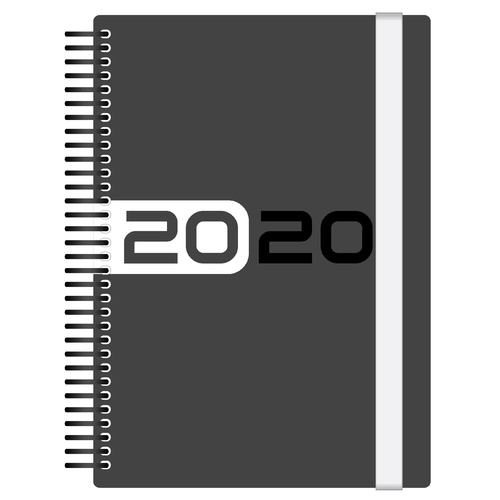 2020 Collins Delta Diary A5 Day to Page White FP51-20