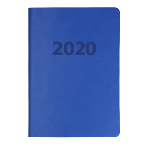 2020 Debden Edge Diary A5 Week to View Blue ED153.U58-20