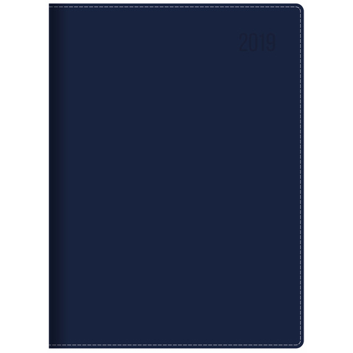 Diary 2019! Debden Associate II A4 Navy Week to View 4251 210x300mm