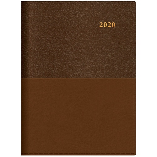 2020 Collins Vanessa Diary Pocket A6 Week to View Tan 365.V33-20