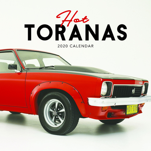 2020 Hot Toranas Square Wall Calendar by Paper Pocket 81301