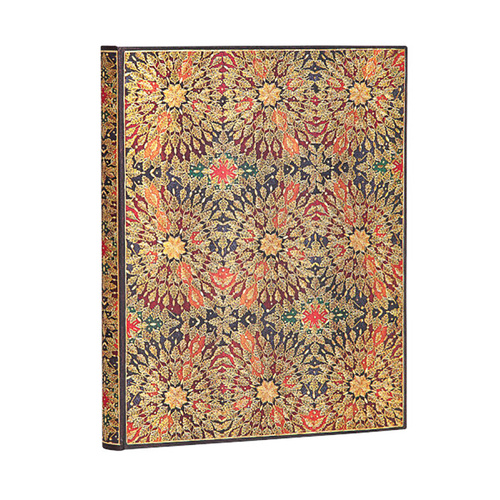 Fire Flowers Ultra Lined Journal By Paperblanks