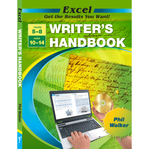 Excel Handbook - Writer's Handboo0.00k Years 5-8 NEW by Pascal Press 9781741252835
