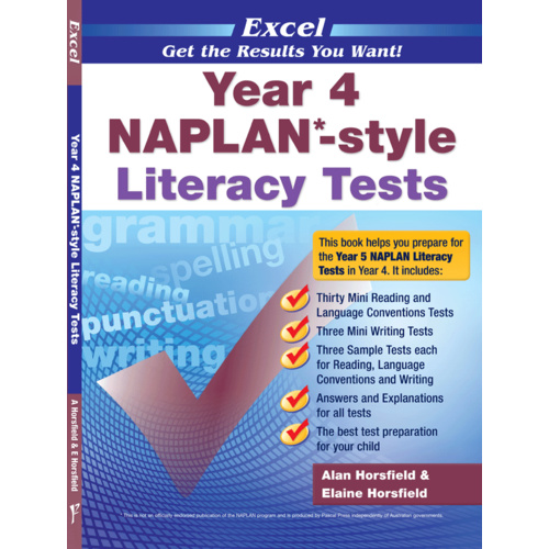 Excel NAPLAN-style Literacy Tests Year 4