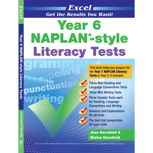 Excel NAPLAN-style Literacy Tests Year 6