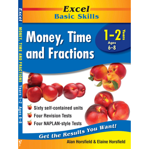 Excel Basic Skills: Money, Time and Fractions Years 1-2