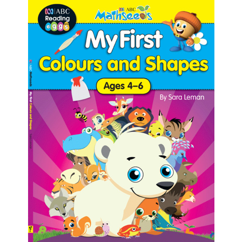 ABC Mathseeds: My First Colours and Shapes - Ages 4-6