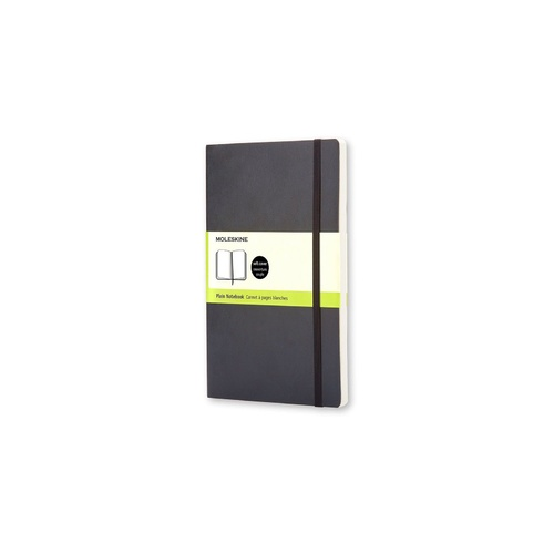 Moleskine Classic Soft Cover Pocket Notebook Plain Black